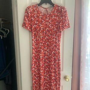 Floral Asos Cotton Dress